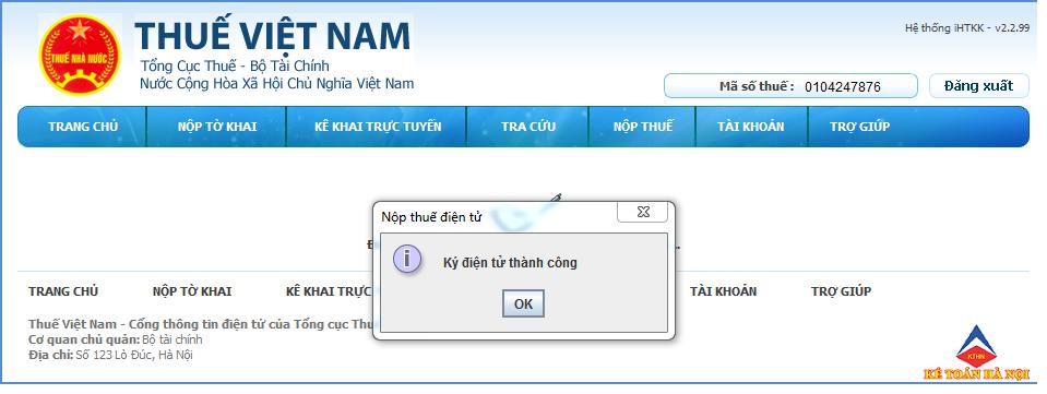b51 1 Hướng dẫn đăng ký tài khoản nộp tiền thuế qua mạng