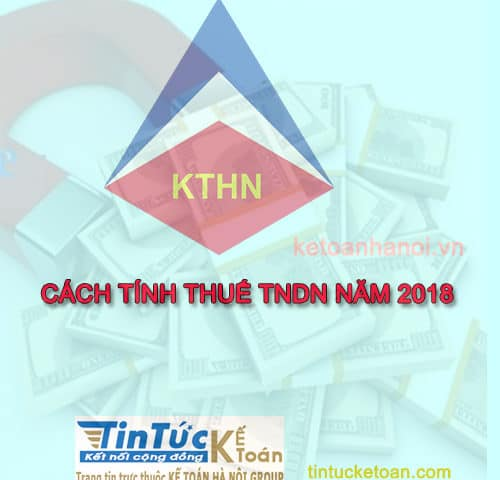 Cách tính thuế thu nhập doanh nghiệp tạm tính hàng quý và phải nộp cuối năm